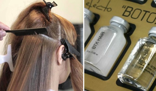 Коктейль ботокс для волос