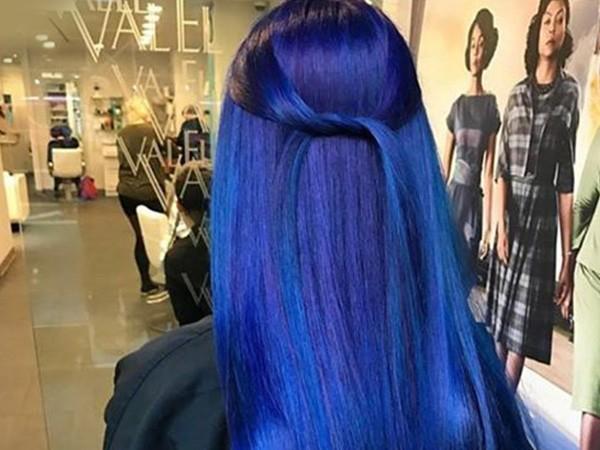 Сине-фиолетовые