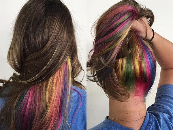 Контурирование волос
