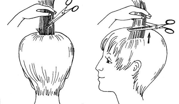 Прореживание волос