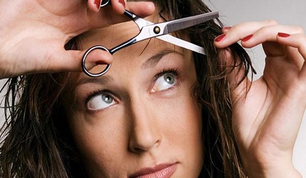 Прореживание волос самостоятельно
