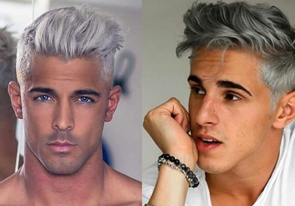 Серый цвет волос у мужчин