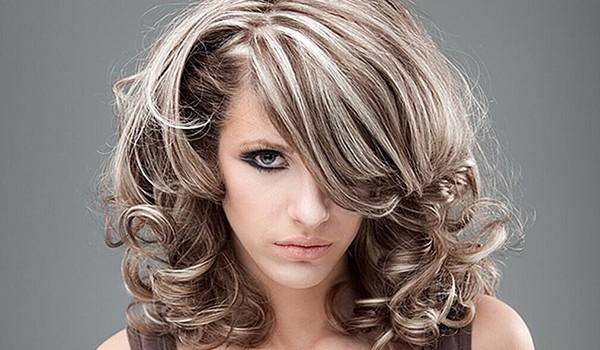 Верх темный низ светлый волосы