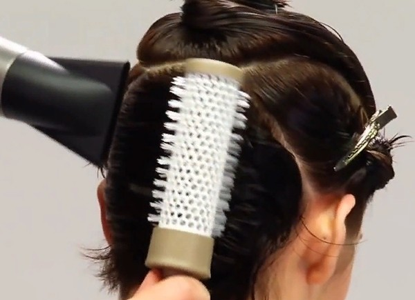 Укладка волос на короткие волосы