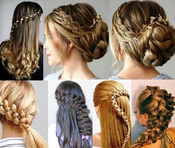 четырехпрядная коса