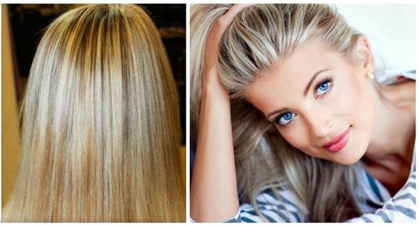 Мелирование у корней волос