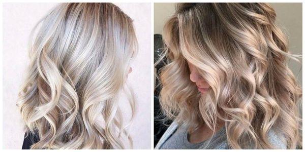 Окрашивание волос средней длины