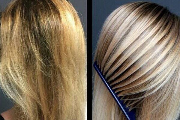 Блондирование: техника