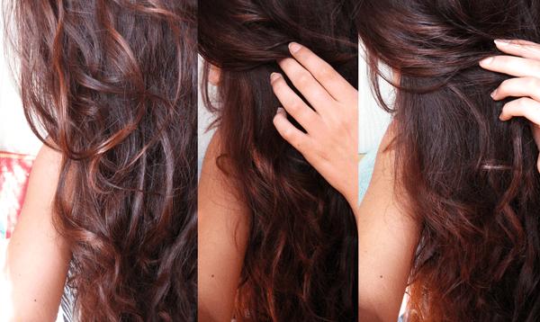 Коричневый оттенок волос