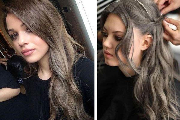 Тонирование русых волос