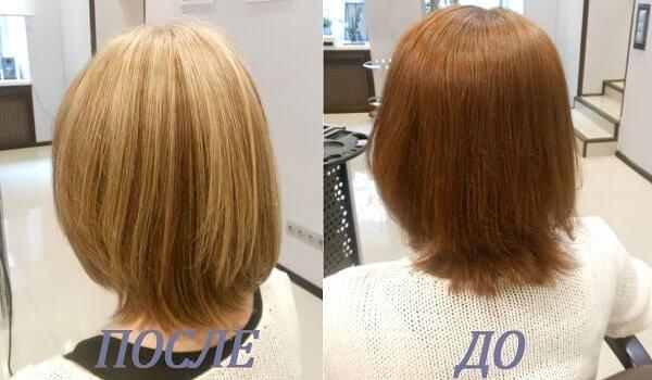 мелирование на короткие волосы