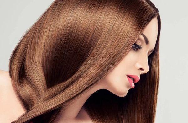 Эффект глазирования волос