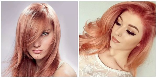 Рыже-розовый