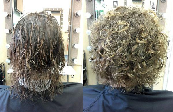 Карвинг стекловидные волосы