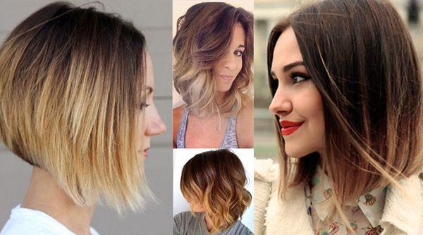 Омбре для любого типа волос