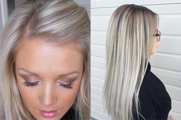 На светлые волосы