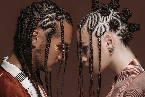 Брейды на волосах