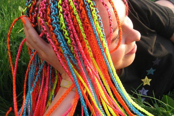 Цветные брейды