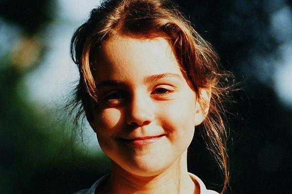 Кейт Миддлтон в детстве
