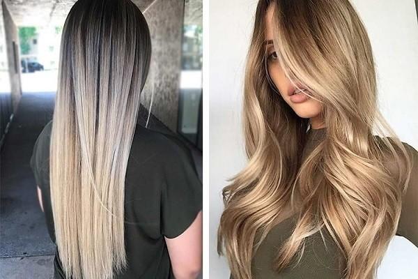 Растяжка на длинные волосы