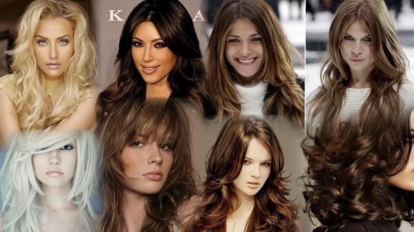 итальянка на длинные волосы